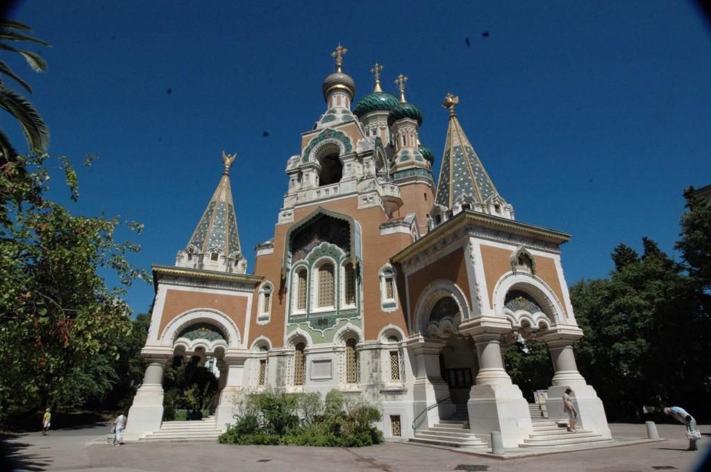 Esterno della cattedrale Ortodossa di Nizza